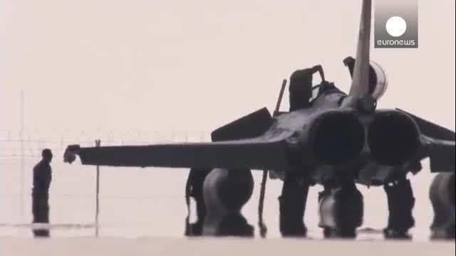 آغاز حملات هوایی فرانسه به مواضع نیروهای داعش