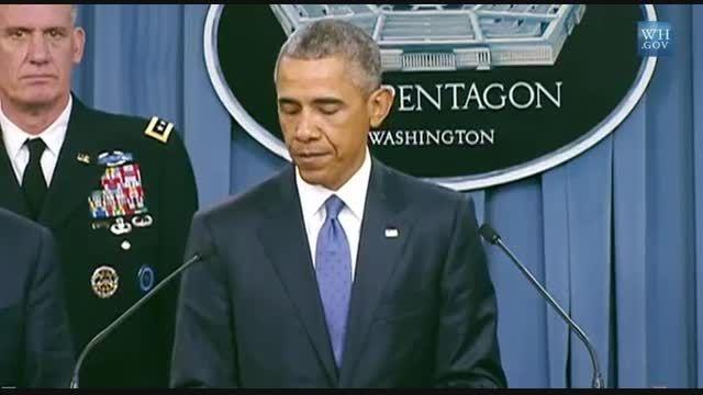 گافِ اوباما درباره آموزش داعش