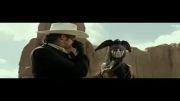 نمونه کیفیت فیلم رنجر تنها The long ranger با حجم کم