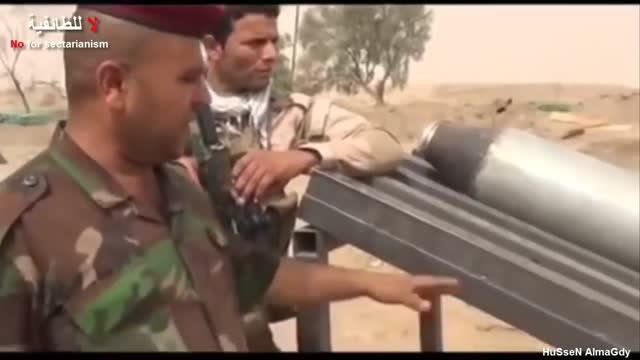 کشف اتاق عملیات و سکوهای پرتاب موشک داعش در فلوجه