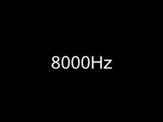 صدای ۸۰۰۰ هرتزی
