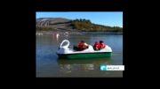 گزارش تولیدی از جاذبه دریاچه باغرود نیشابور سال 90