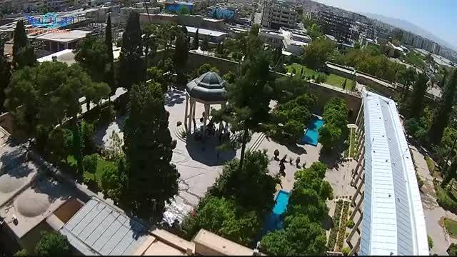 میراث ماندگار: تصاویر هوایی شیراز هلی شات