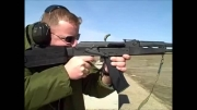شلیک با اسلحه ی روسی AK-74