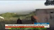 حمایت های اسرائیل از تروریست های قنیطره در جنوب سوریه