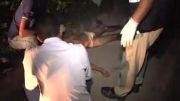 صحنه قتل یک نوجوان در برزیل