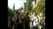 تجمع اعتراض آمیز دانشجویان و طلاب  مقابل کنسولگری آذربایجان