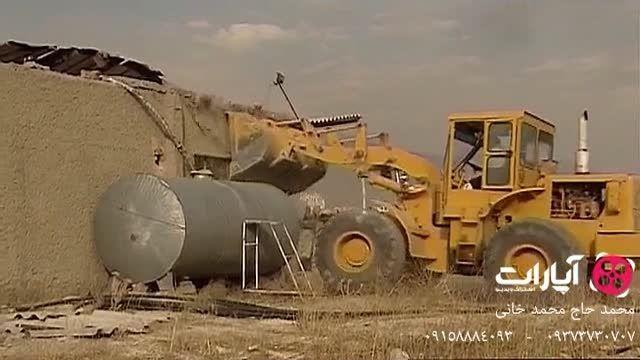 تخریب سازه های غیر قانونی و آزادسازی اراضی ملی-درکه