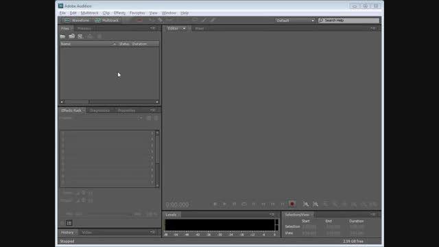 تبدیل سی دی های صوتی به فایل صوتی در Adobe Audition