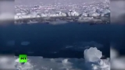 اولین تصاویر واقعی از برخورد شهاب سنگ به زمین!!!