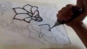 آموزش  رسم نقاشی روی شیشه!!❀