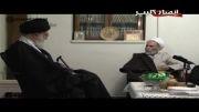 حضور مقام معظم رهبری در منزل مرحوم آقا تهرانی