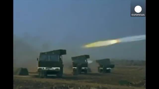 پرتاب موشک کره شمالی پیش از آغاز مانور مشترک آمریکا