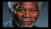 نقاشی باور نکردنی از چهره مورگان فریمن با آیپد