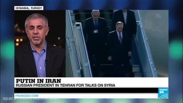 دیدار ولادیمیر پوتین با رهبر انقلاب اسلامی در تهران - 2