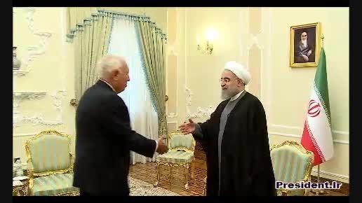 دیدار دکتر روحانی با وزیر خارجه اسپانیا