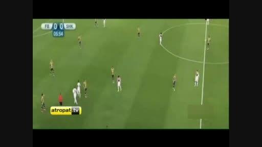 فوتبال ترکیه/خلاصه بازی فنرباغچه ترکیه - شاختار اوکراین