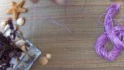 طرز درست کردن یک دستبند بسیار زیبا
