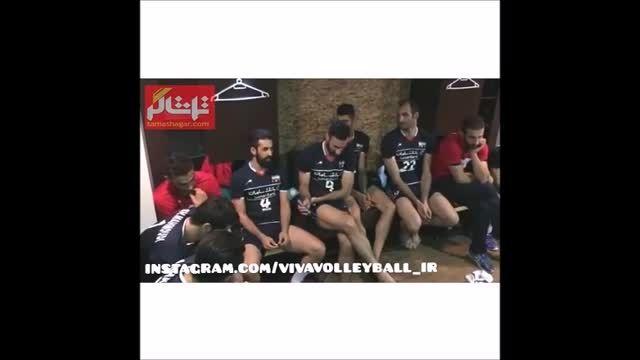 انتقادهای کاپیتان ازمسئولین بعداز بازی دوم ایران-آمریکا