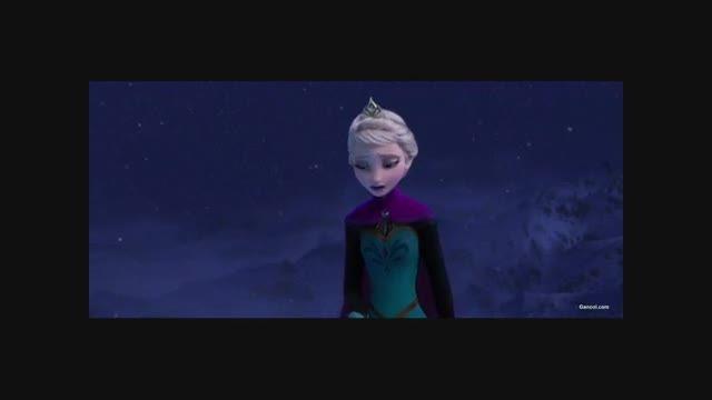 آهنگ سرمای خفته از فیلم ملکه یخی (دوبله گلوری)