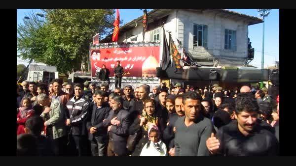 برگزاری مراسم روز تاسوعا در خیابان امام خمینی گرگان 93