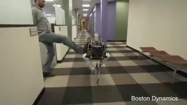 روبات چهارپا!