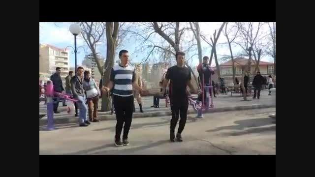 رقص آذری باطناب