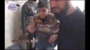 کودک سوری به جرم حمل مرغ کتک خورد!