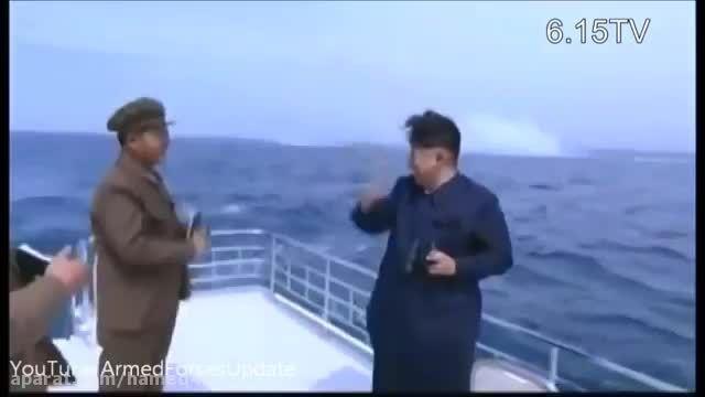 تست اولین موشک بالستیک زیردریایی کره شمالی