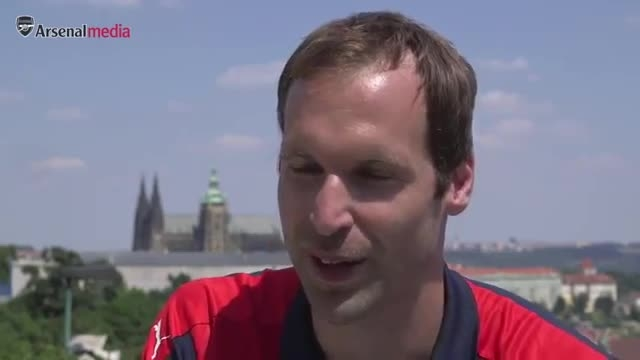 صحبت های پیتر چک برای اولین حضور در ترکیب آرسنال