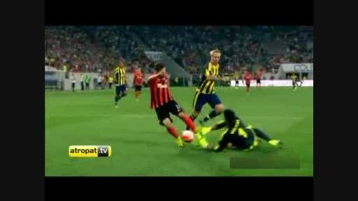 فوتبال ترکیه/خلاصه بازی شاختاردونتسک (3)-فنرباغچه (صفر)