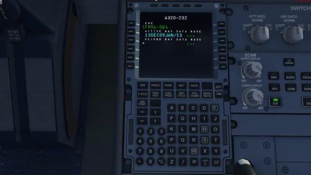 آموزش FMC هواپیمای ایرباس A320