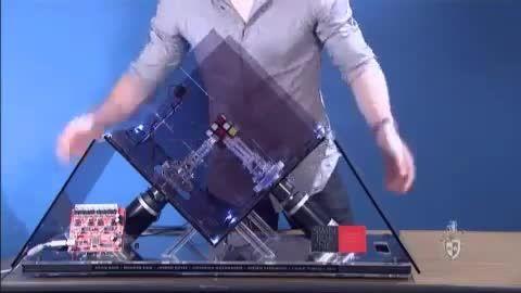 مکعب روبیک را می شناسید؟ روباتی که مکعب را حل می کند