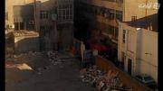 آتش سوزی در خیابان جمهوری تقاطع حافظ
