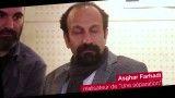 گفت و گو با لیلا حاتمی و اصغر فرهادی در فرانسه