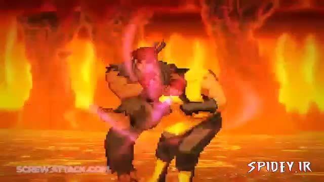مبارزه «ریو» با «اسكورپین» - Death Battle