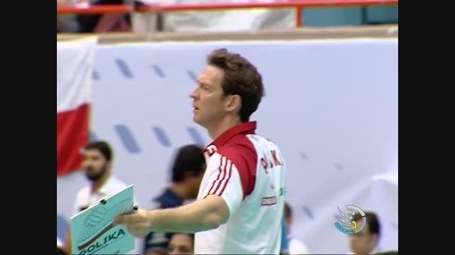 برد شیرین والیبال ایران مقابل لهستان قهرمان جهان