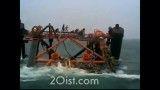 غرق شدن سکوی نفتی ایران