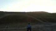تک چرخ و بالا رفتن از تپه