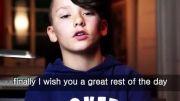 مصاحبه با keanrah  خواننده دوازده ساله و معروف آلمانی