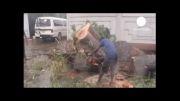 باران های موسمی در سریلانکا 27 قربانی گرفت