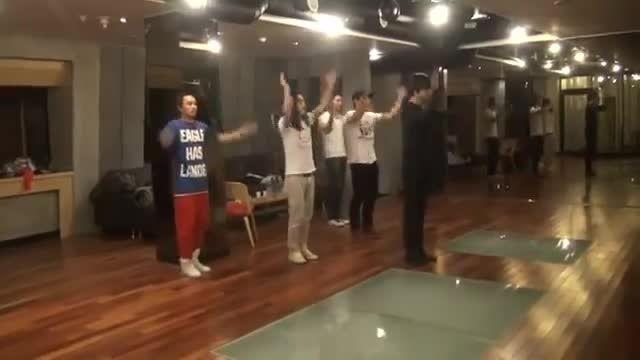 ویدیو کلیپ تمرین رقص لی مین هو