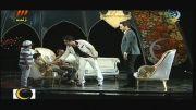 عموپورنگ(داریوش فرضیایی)و امیر محمد(متقیان)در برنامه ماه عسل