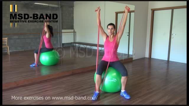 تمرین شماره 1- جهت تقویت عضلات شانه