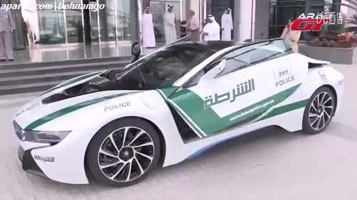 BMW i8.ناوگان جدید پلیس دبی..