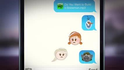 کارتون فروزن به صورت موبایلی !!!!!