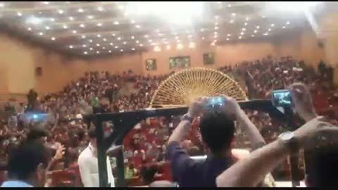 لحظه ثبت ركورد تیم ماكارونی جهاد دانشگاهی خوزستان