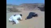 نماز در بیابان برهوت