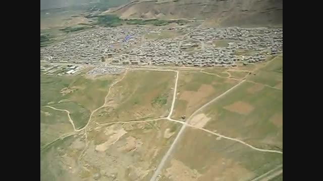 منطقه آزاد ماکو در آذربایجان غربی با پاراگلایدر