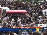 پوشش خبری تشییع جنازه استاد فریدون پوررضا در بخش خبری 20:30